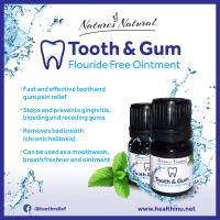 Natures Natural™ Extra Strength Tooth & Gum-Fluoride Free Ointment